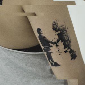 #Pinkfloyd glitch tattoo - #Glitchtattoo #TattooGlitch