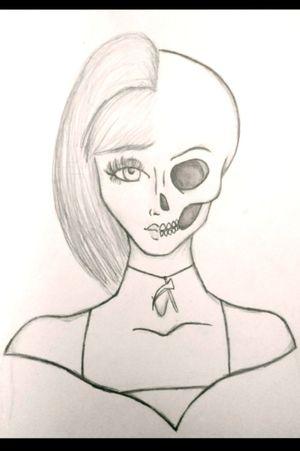 #skull #pencildrawing