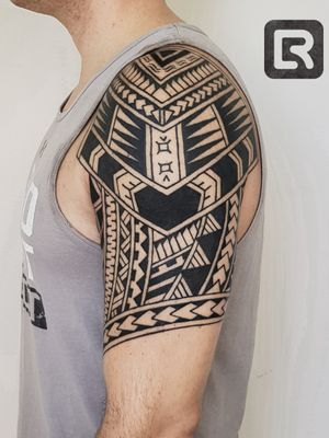 #Samoa #freehand #black #raskinstyle #geometric