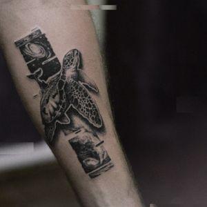 glitxing #turtle #glitchtattoo #TattooGlitch