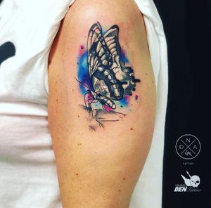 #tattoo #gdansktattoo #motyl #buttetflly #colour #ink #tattooartist