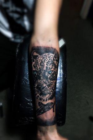 #leopardtattoo