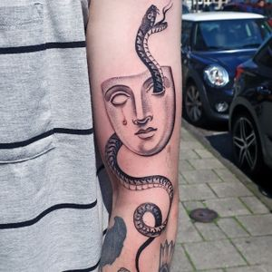 Mask and snake