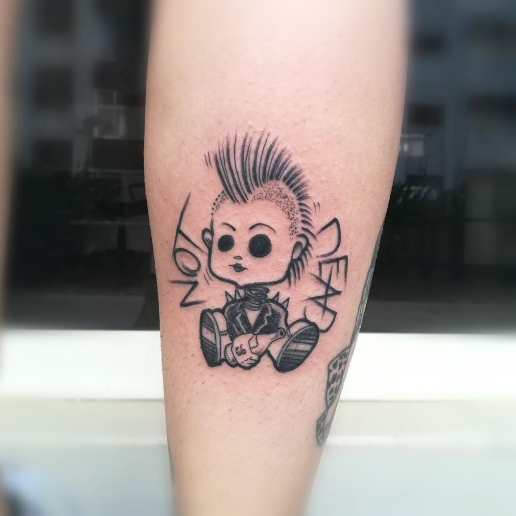 Punk tattoo 125 Steampunk