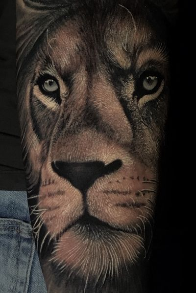 DETAILS @poppinowillinkya #poppino #realism #realistictattoo #liontattoo #lion #details