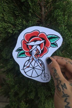 Rose bike