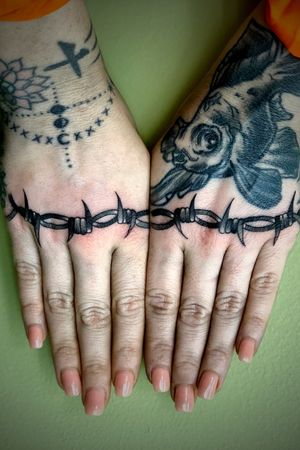 Barbed Wire Knuckles