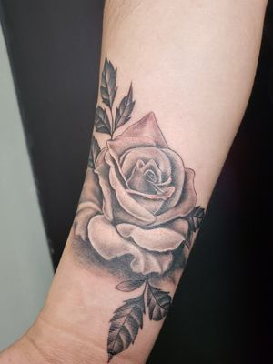 Black rose.