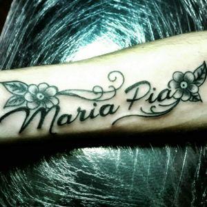 #nametattoo #scripttattoo #letteringtattoo #lining #tattooing