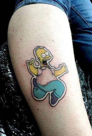 Homer sticker #TheSimpsonstattoo #TheSimpsons