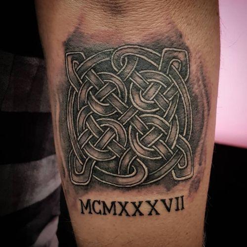 Son's tribute to father #tattoo #tattooartist#celtictattoo  #blackwork #lineworktattoo #fathersday  #tätowierung #tattooinberlin #berlin #berlintattooartist  #deutschland