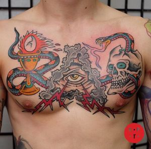 Tattoo by Red Point Tattoo