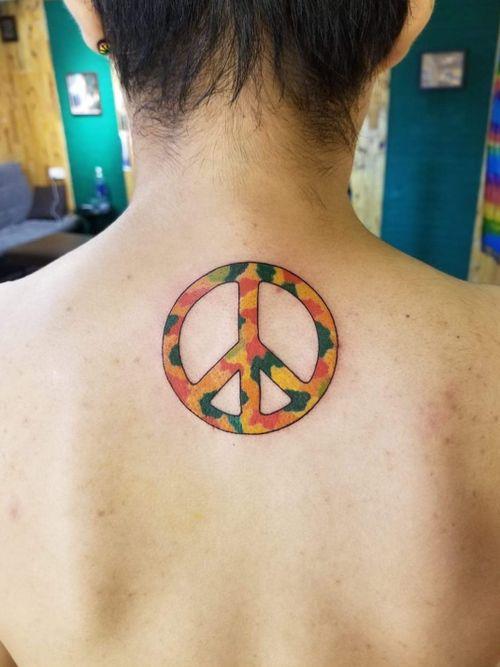 Peace and love #peaceandlove #peacesign