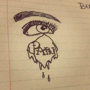 Pain by me #pain #tears #eyeball