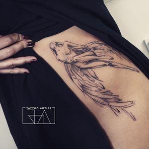 Tattoo by Joa Antoun Tattoos