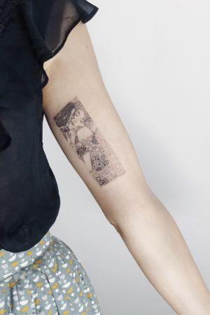 "Klimt ""TheKiss"""