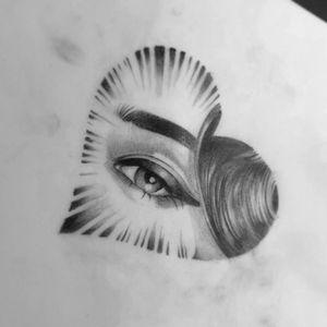 #eyetattoo #eye #eyetattoos #skulltattoo #tattooscript  #melbourne #portraittattoo #eyetat #portraitdrawing #portrait #realismtattoo #realismdrawing #realism