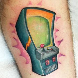 #braink #tattoo #tattoostudio #tattooed #tattoolife #tattoosocial #tattoodraw #tattoolike #follow4follow #followme #tattooworkers #tattoos#fullcolor #cartoon #games #arcadegame #arcade