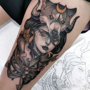 •Lady wolf •