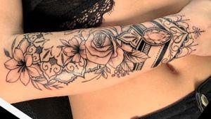 #beautiful #rose #mandala #halfsleeve #detailedjewel