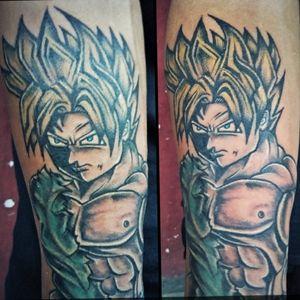 Goku. #dragonballtattoo