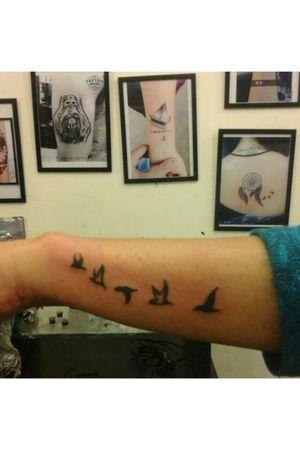 Sign of freedom. #freedom #birdtattoo