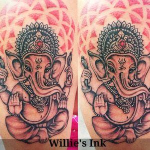 God Ganesha . #ganeshtattoo
