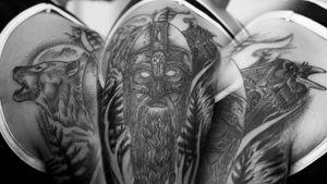wolf x viking x raven