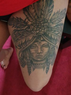 #nativeamericanwoman#lovetattoos