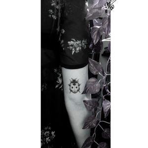 #cute #small #tiny #ladybird #cutetattoo #smalltattoo #ladybirdtattoo #realistictattoo #realism #insect #insecttattoo #bohotattoo #tinytattoo #minimalisttatto #minimalistic #minimalist #girlytattoos #bruxelles #brussels #armtattoo #lovetattoo