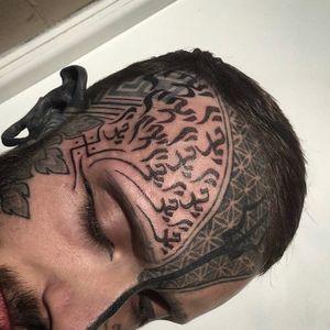 #nofilter #tattoo #tattoos #geometrictattoo #sacredgeometry #geometry #dotworktattoo #dottattoo #blackandgreytattoo #blackandgrey #lineart #blackwork #lineworktattoo #lines #patterns #patterntattoo #bespoketattoo #customtattoo #guyswithtattoos #girlswithtattoos #facetattoo #mantra #tashimannox #calligraphy #tibetan