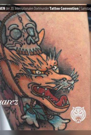 Japanese tattoo done by Julian Suarez #julian #suarez #art4life