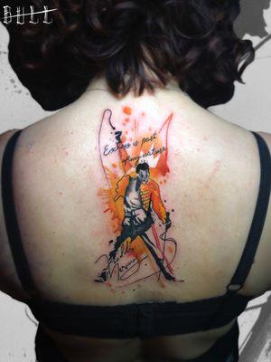 #tattoo #ink #pescara #italianstyletattoo #tatuaggio #inspiration #tatuaggi #pescaratattoo #abruzzo #abruzzotattoo #ideas #rock #freddy #acquerello #iltatuaggio #bohemianrhapsody #watercolorart #watercolor #watercolortattoo #queen #freddymercury