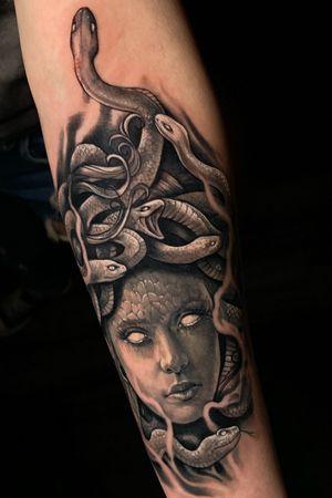 Medusa Last Rites Tattoo Teather