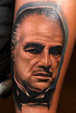 #color #portrait #tatuaje #bcntattoo #riga #latvia #barcelona #godfather #colorportrait