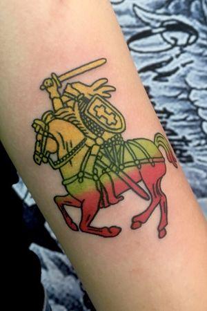Lithuania knight by Tony.