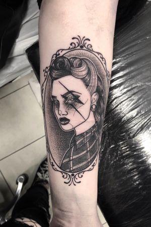 Love a good portrait. // scar cover up. Thanks Emma! 🖤