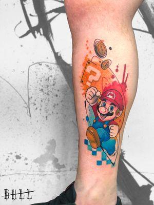 #tattoo #ink #pescara #italianstyletattoo #tatuaggio #inspiration #tatuaggi #pescaratattoo #abruzzo #abruzzotattoo #ideas #game #freddy #acquerello #iltatuaggio #cosplay #watercolorart #watercolor #watercolortattoo #nintendo #supermario #gamingtattoo #gamerink #nerdytattoosdaily