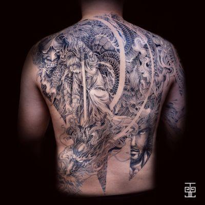 #samourai #dragon #hannya #asian #japanese #samurai