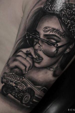 #b&g #portrait #tatuaje #bcntattoo #riga #latvia #barcelona #blackandgrey #renjute