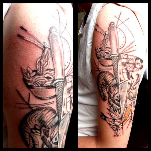 #work #koch #Messer #artist #follow #followforfollower# #nadel#frau #inked#tattoodo #inked #tattoodo #tattoodoambasador #germantattooer #instgood #instatattoo #follow #follower#tattoodo #frau #inkedgirl #inkedwoman #blackandgrey#instatattoo #germantattooer #lines #kunst #art