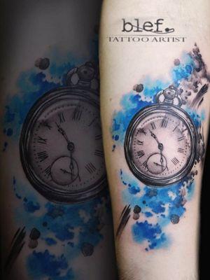 Watercolor clock done on my guest spot in Japan #watercolor #watercolorart #watercolortattoo #color #colorful #coloraddicts #inkaddicta #inked #inkedup #watch #pocketwatch #clock #clocktattoo #timetattoo #tattootime #besttattoos #tattoocmunity #tattooart #tattooartists #inklovers #realistic