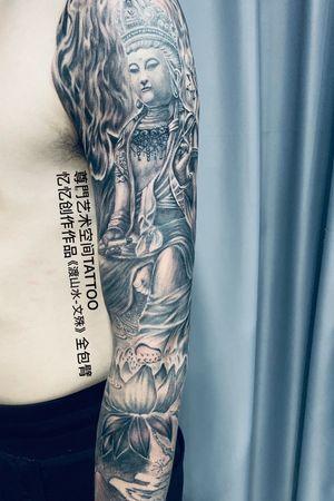 """""""尊门"""" - Shanghai,China Production #2 Tattooist: 忆忆"""
