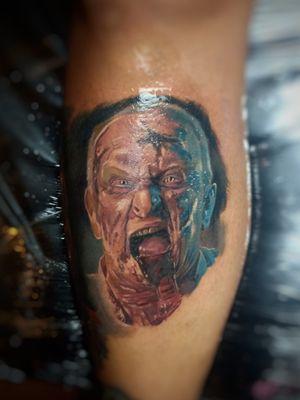 #zombietattoo #horrortattoo #horrorart #horror