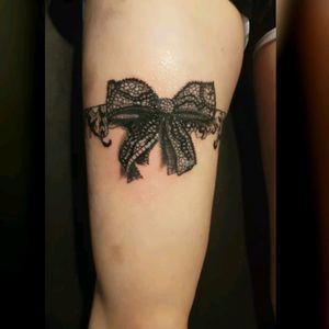 Lace bow 😏 . . . . . . . #skinartmag #tattoos #ink #inked #tattooed #blacktattooing #tattooartist #blackwork #btattooing #blackworkerssubmission #blacktattooart #darkartists #tttsm #blacktattoomag #blackworkers #onlyblackart #inkedmagazine #inkedmag #realistictattoo #lace #bow #amazing #instagood #instagrammer #stayinkwithdavink #picoftheday #girlswithtattoos #inkedgirls #tattoogirls