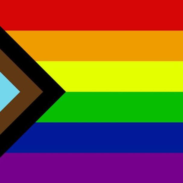 The newly designed Pride Flag #rainbowtattoo #queertattoo #LGBTQIA #LGBT #queer #gay #pride #pridemonth #tattooidea #meaningfultattoo