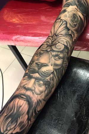 Cara interna del brazo de mostro Andy.