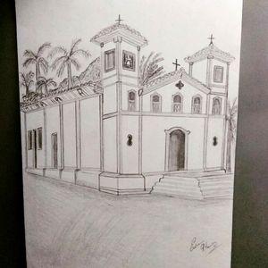 Igreja de Santa Rita. 1854 estilo colonial