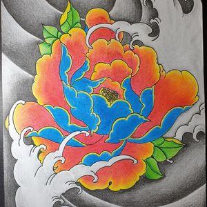 """Imperial"" 牡丹花 - Peony Flower Brittle yet empowered with beauty. #tattoo #tattoos #tattooart #tattoolife #tattoolover #totd #tattoosg #tattoosingapore #sgtattoo #sgtattoos #sgtattooartist #singaporetattoo #singaporetattoos #singaporetattooartist #wip #irezumi #risingsuntattoos #tradtattoos #japanesetattoo #peonytattoo #peony #flower #waves"