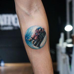 Eternal Sunshine of the Spotless Mind tattoo